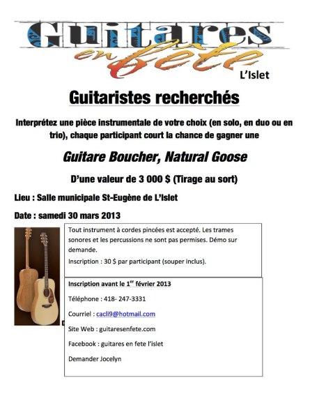 guitares en fête