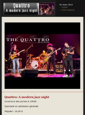 quattro a modern jazz night