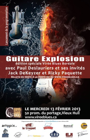 virée blues guitare explosion