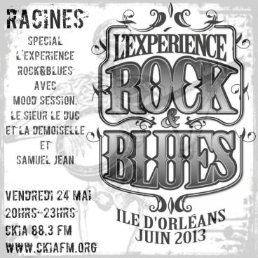 expérience rock blues