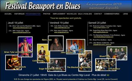 beauport blues 2013-