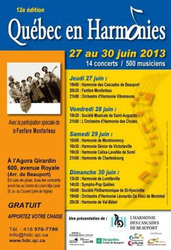 Festival Québec en Harmonie