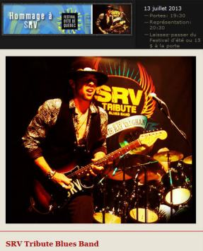 srv tribute blues band-