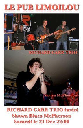 Richard Carr Shawn Blues McPherson