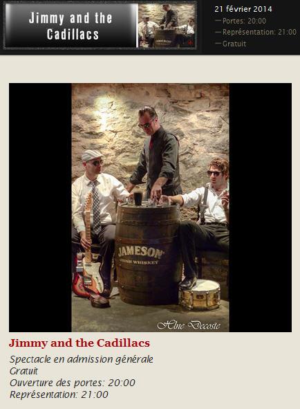 jimmy and the cadillacs 21 fév