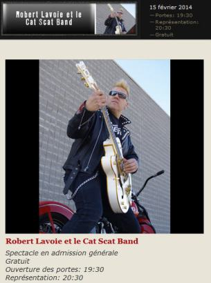 robert lavoie et le cat scat band