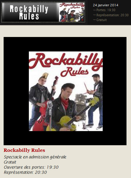 rockabilly rules 24 jan