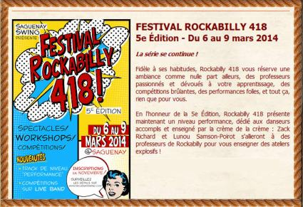 rockabilly saguenay mars 2014