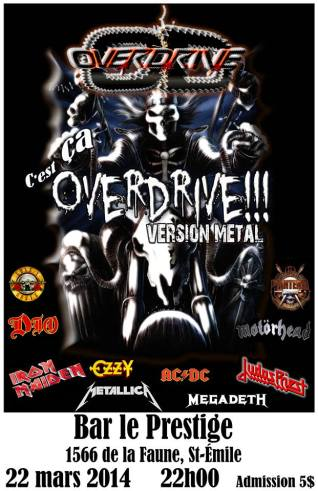 overdrive metal