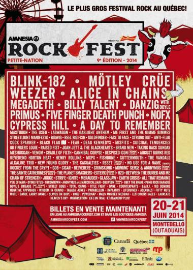 amnesia rock fest 2014