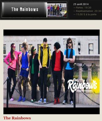 the rainbows 25 avril
