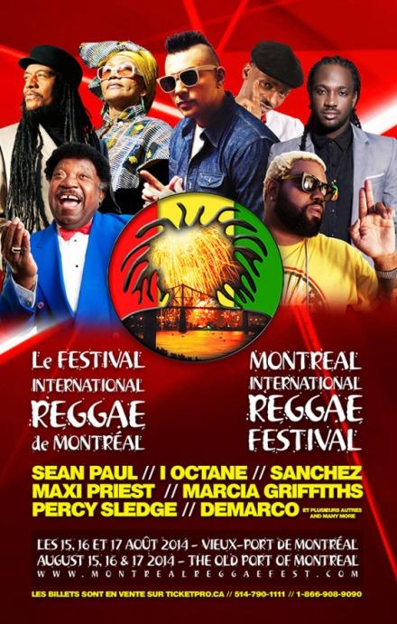 festival reggae mtl 2014