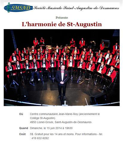 harmonie st-augustin