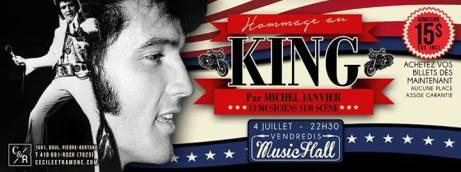 michel janvier hommage au king