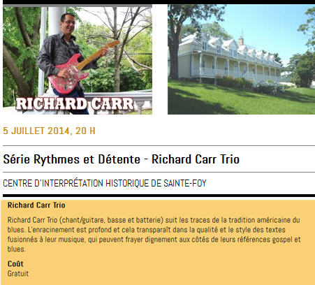 richard carr trio