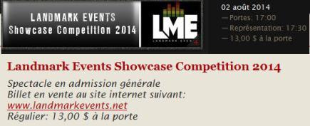 landmark event showcase