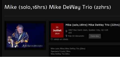 mike 5 juillet