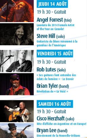 centre ville en blues