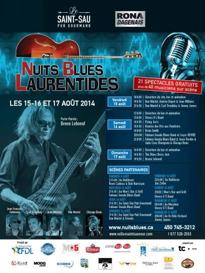 nuit blues laurentides