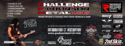 challenge parkinson metal