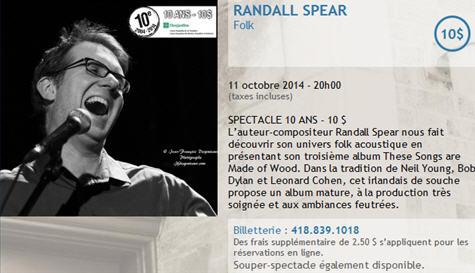 randall spear 11 oct