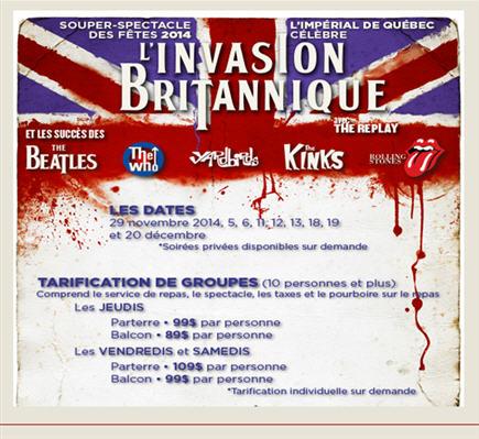 invasion britannique