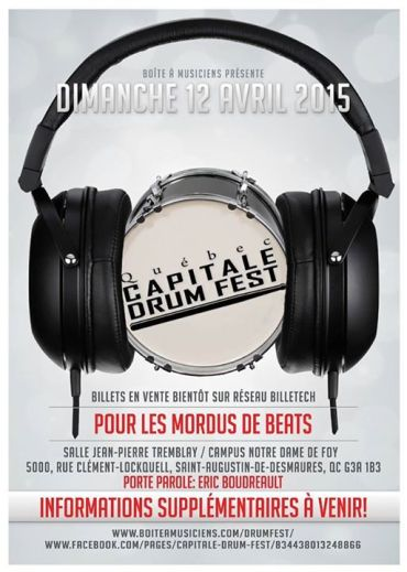 quebec capitale drum fest 2015