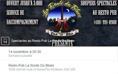 route du blues.
