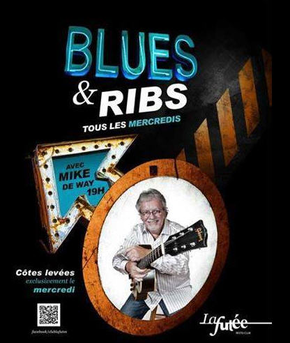 blues and ribs