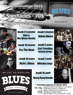 soirées blues 2015