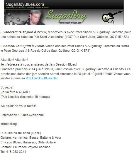 sugarboy 12 juin