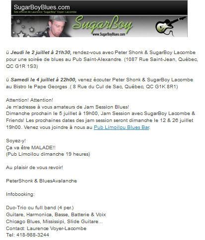 sugarboy 4 juillet