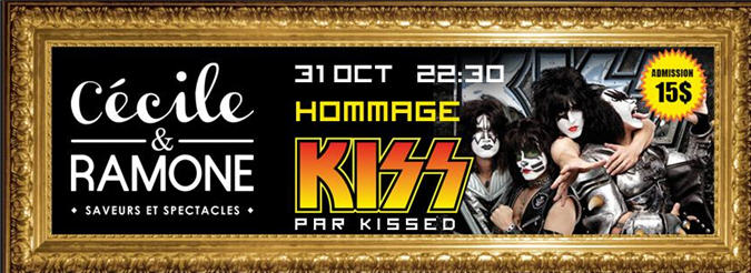 kiss 31 oct C&R