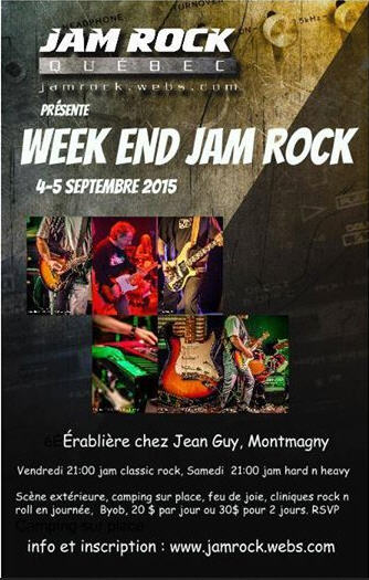wek end jam rock