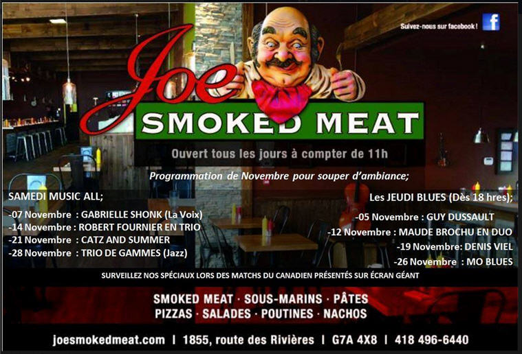 joe smoked meat novemvre