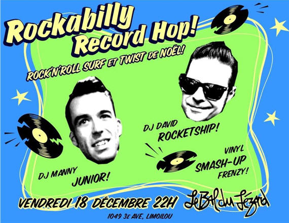 rockabilly bal du lézard